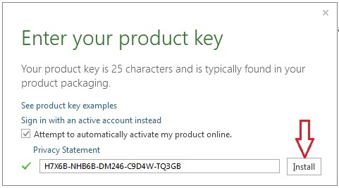 free microsoft office product key for mac