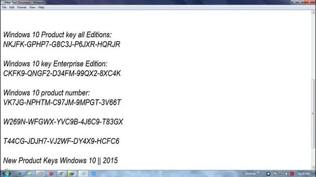 Windows 10 Product Key for You