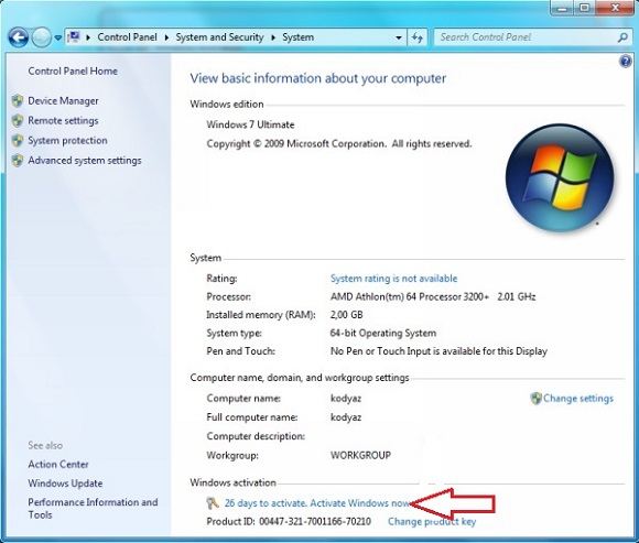 Windows 7 Product Key All Versions