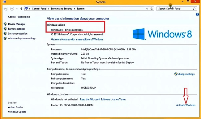 Windows 8.1 Product Key All Versions